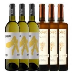 Lote Vinos Bolet Blancos